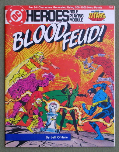 Blood Feud! (DC Heroes role playing game)