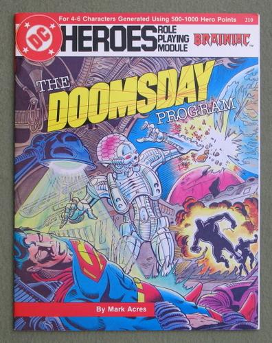 The Doomsday Program (DC Heroes RPG), Mark Acres