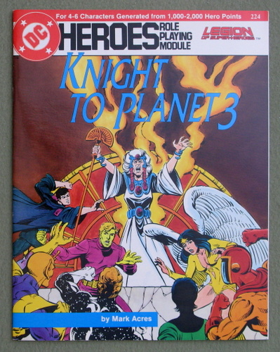 Knight to Planet 3 (DC Heroes), Mark Acres