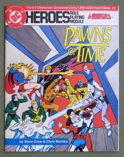 Pawns of Time (DC Heroes RPG), Steve Crow & Chris Mortika
