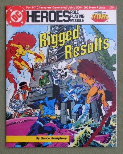 Rigged Results (DC Heroes RPG), Bruce Humphrey