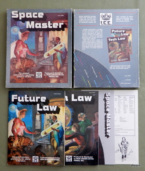 Space Master (1st Edition) - PLAY SET, Terry K. Amthor & S. Coleman Charlton & Peter C. Fenlon