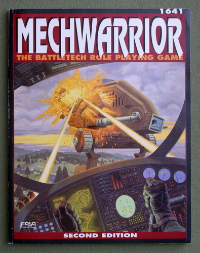 Mechwarrior: The Battletech Role Playing Game (2nd Edition)