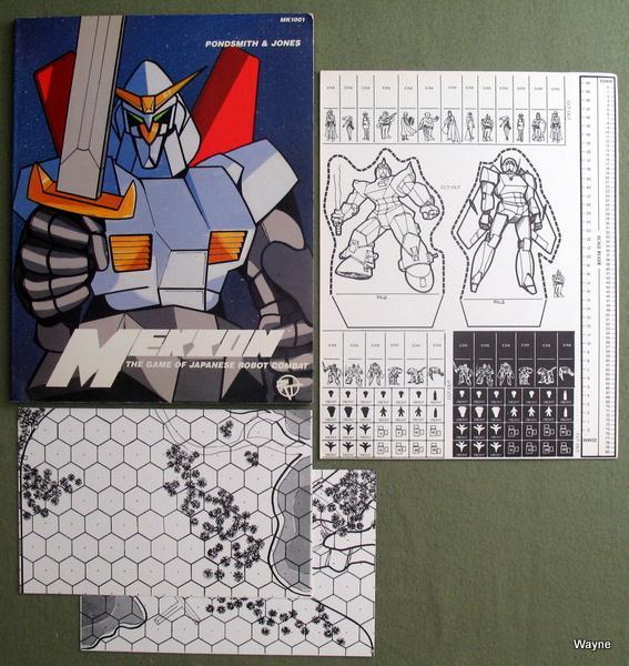 Mekton: The Game of Japanese Robot Combat, Michael Pondsmith & Mike Jones