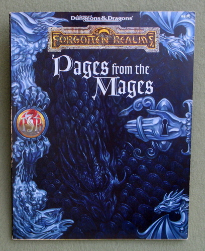 Pages from the Mages (Advanced Dungeons & Dragons: Forgotten Realms), Ed Greenwood & Tim Beach