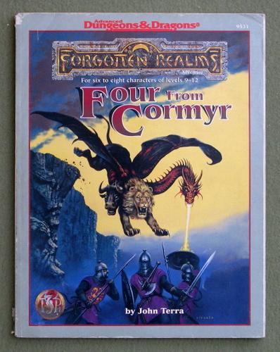 Four from Cormyr: 4 Forgotten Realms Adventures - PLAY COPY, John Terra