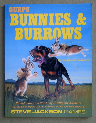 GURPS Bunnies & Burrows, Steffan O'Sullivan