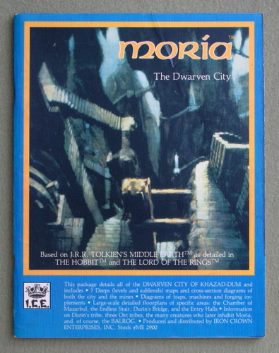 Moria: The Dwarven City (Middle Earth Role Playing/MERP)
