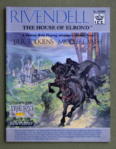 Rivendell: The House of Elrond (Middle Earth Role Playing/MERP), Terry K. Amthor & Peter C. Fenlon & Angus McBride