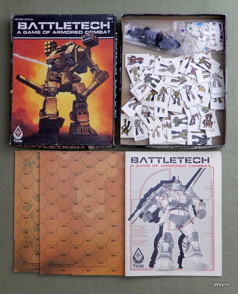 Battletech: A Game of Armored Combat (2nd Edition) - PLAY SET