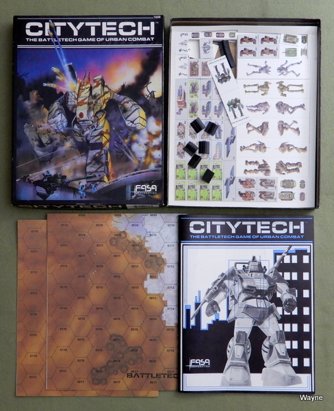 Citytech: The Battletech Game of Urban Combat