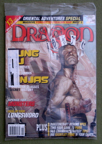 Dragon Magazine, Issue 289