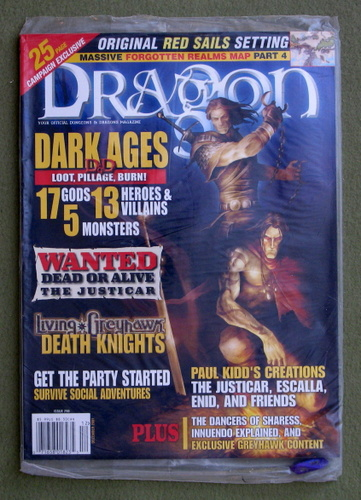 Dragon Magazine, Issue 290