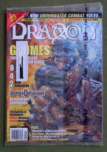 Dragon Magazine, Issue 291