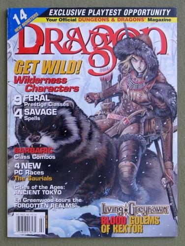 Dragon Magazine, Issue 292