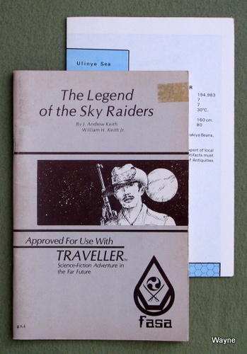 Legend of the Sky Raiders (Traveller RPG), J. Andrew Keith & William H. Keith Jr.