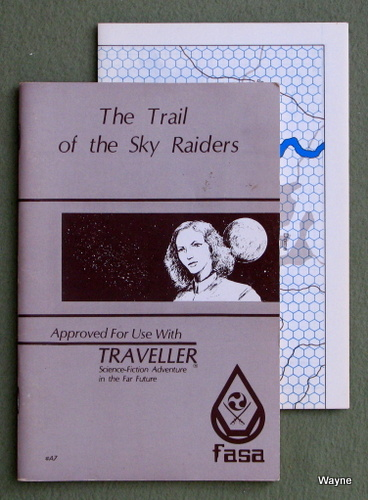 Trail of the Sky Raiders (Traveller), J. Andrew Keith