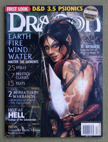 Dragon Magazine, Issue 314