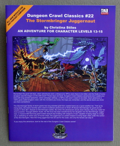 The Stormbringer Juggernaut (Dungeon Crawl Classics 22), Christina Stiles