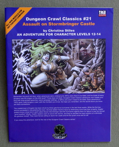 Assault on Stormbringer Castle (Dungeon Crawl Classics 21), Christina Stiles