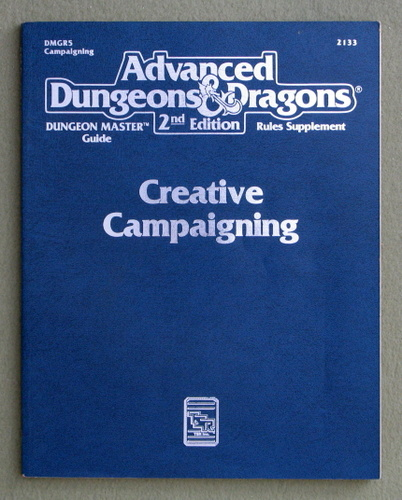 Creative Campaigning (Advanced Dungeons & Dragons, 2nd Edition, Dungeon Master's Guide Rules Supplement DMGR5)