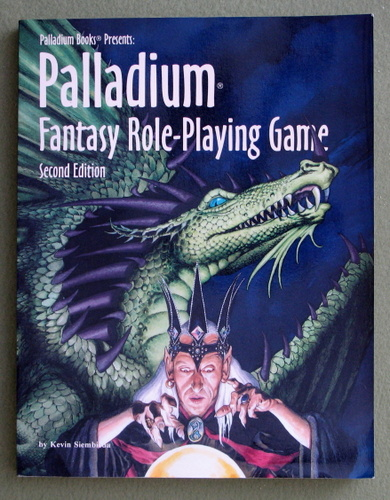 Palladium Fantasy Role-Playing Game (Second Edition), Kevin Siembieda
