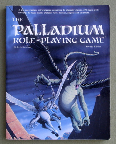 Palladium Role-Playing Game: Revised Edition, Kevin Siembieda