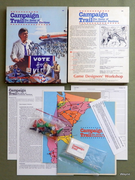 Campaign Trail: The Game of Presidential Elections, Anderson, Peter & William Snavely