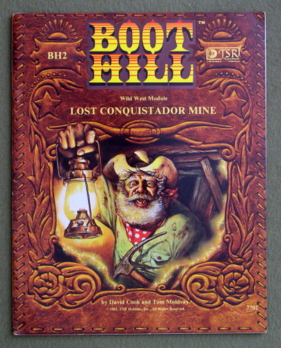 Lost Conquistador Mine (Boot Hill Module BH2), David Cook & Tom Moldvay