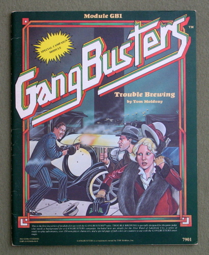 Trouble Brewing (GangBusters Module GB1)