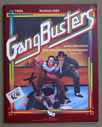 The Vanishing Investigator (Gangbusters module GB4), Mark Acres