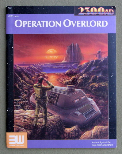 Operation Overlord (2300AD roleplaying game), C.W. Hess