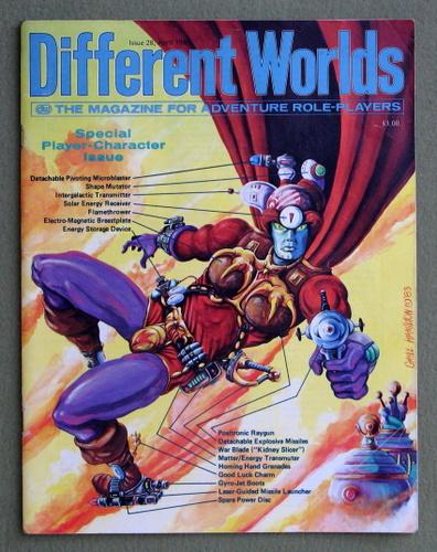 Different Worlds Magazine, Issue 28