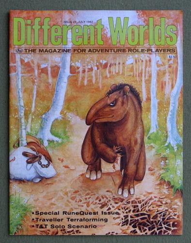 Different Worlds Magazine, Issue 22