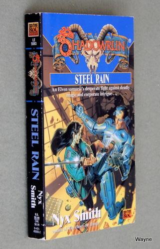 Steel Rain (Shadowrun), Nyx Smith