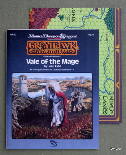 Vale of the Mage (Advanced Dungeons & Dragons/Greyhawk Module WG12), Jean Rabe