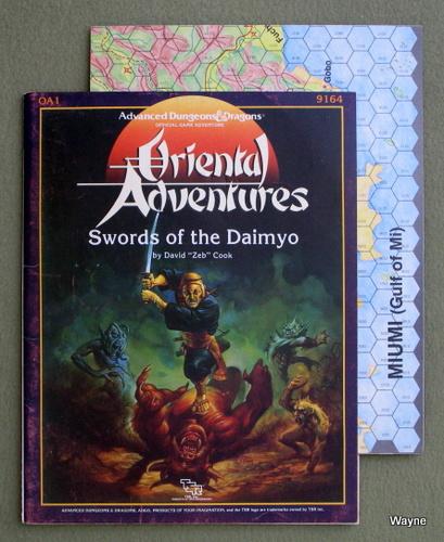 "Swords of the Daimyo Module OA1 (Oriental Adventures), David ""Zeb"" Cook"
