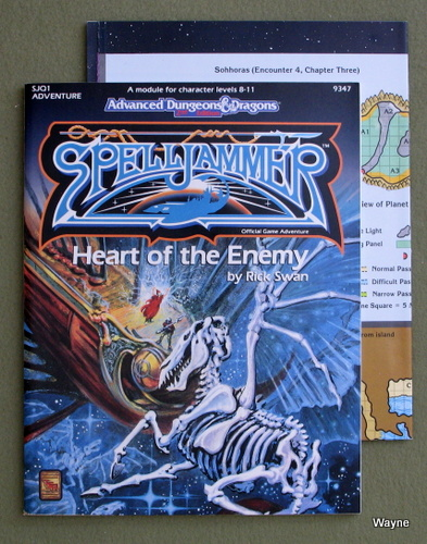The Heart of the Enemy (Advanced Dungeons & Dragons, 2nd Edition, Spelljammer Adventure SJQ1), Rick Swan