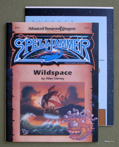 Wildspace (Advanced Dungeons & Dragons: Spelljammer Module SJA1), Allen Varney