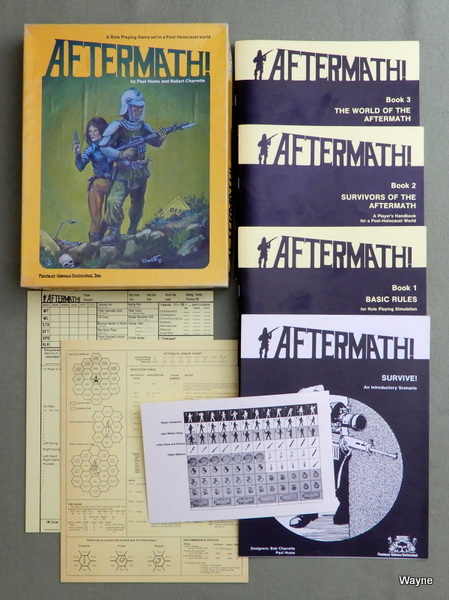 Aftermath! - A Role Playing Game Set in a Post-Holocaust World, Robert Charrette & Paul Hume