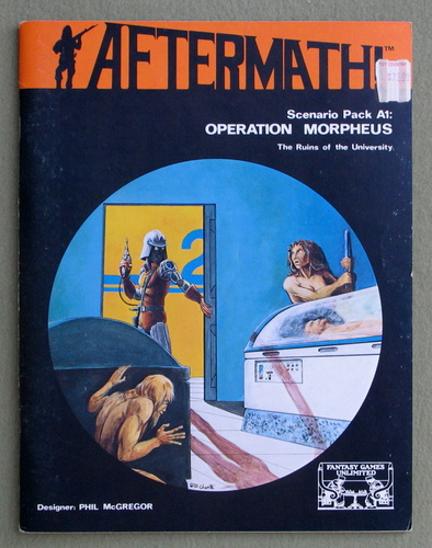 Operation Morpheus: The Ruins of the University (Aftermath RPG Scenario Pack A1), Phil McGregor