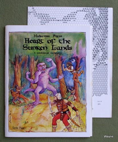 Heart of the Sunken Lands: A Wilderness Campaign (Midkemia), Rudy Kraft