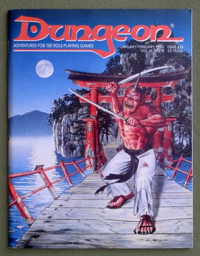 Dungeon Magazine, Issue 33