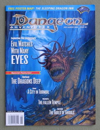 Dungeon Magazine, Issue 81 - NO POSTER