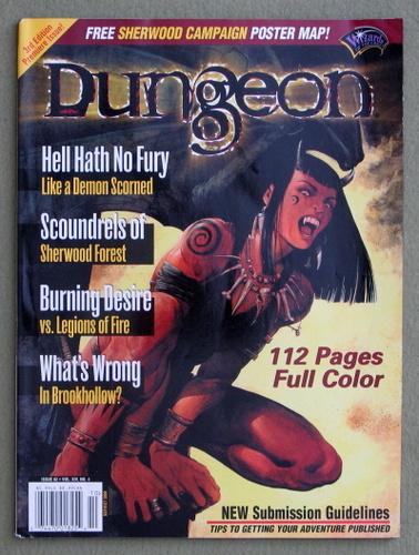 Dungeon Magazine, Issue 82 - NO POSTER