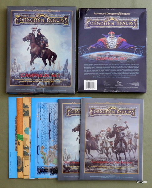 The Forgotten Realms Campaign Set (AD&D/Advanced Dungeons & Dragons), Ed Greenwood & Jeff Grubb