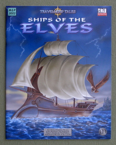 Ships of the Elves (Dungeons & Dragons: D20 System), Mike Major
