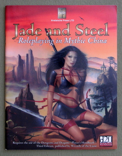 Jade & Steel: Role-Playing In Mythic China