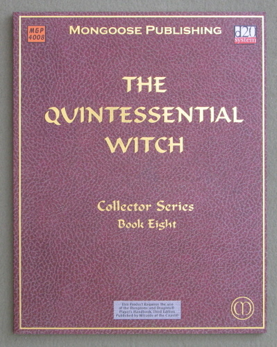 The Quintessential Witch (D20 System), Robert J. Schwalb
