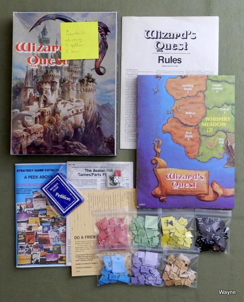 Wizard's Quest: Treasure Hunt on the Fantastic Island of Marron [BOOKCASE GAME]